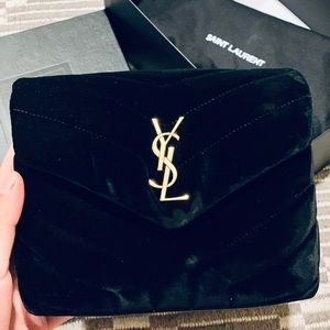 BRAND NEW YSL TOY LOULOU Velvet crossbody